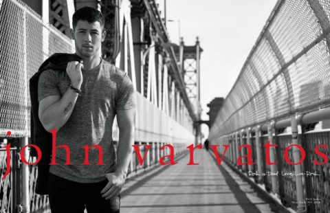 Nick Jonas partners with John Varvatos for new fragrance collection