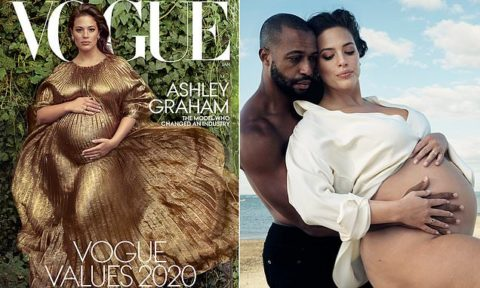 Ashley Graham takes body positive leadership to a new level with Vogue
