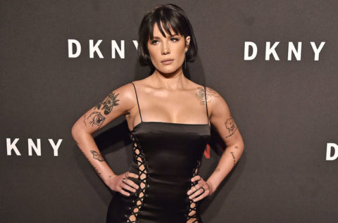 Popstar Halsey partners with DKNY to benefit charity