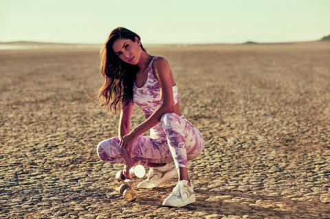 JEN SELTER STARS AS THE NEW FACE OF GUESS ACTIVEWEAR